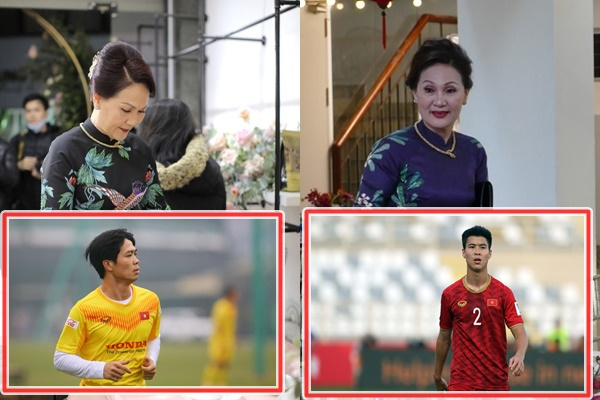 Hội mẹ vợ quyền lực của tuyển thủ Việt Nam, nhạc mẫu Công Phượng là số 1